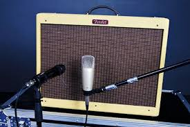 How to mic a guitar amp