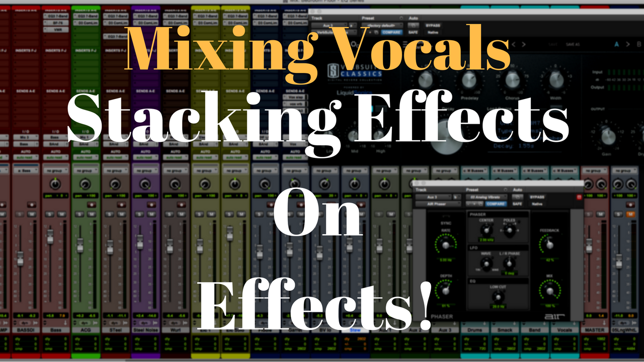 mixing vocals