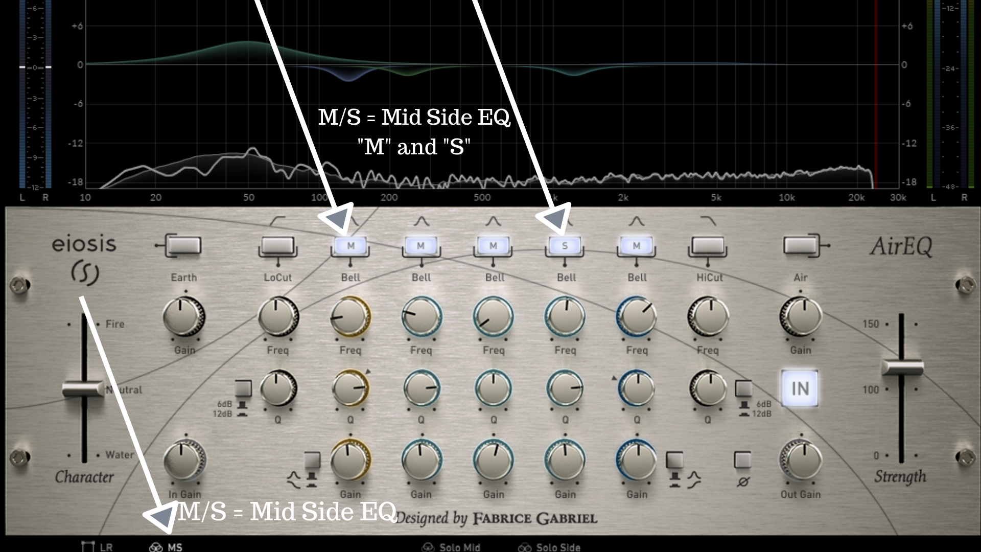 Mid Side EQ